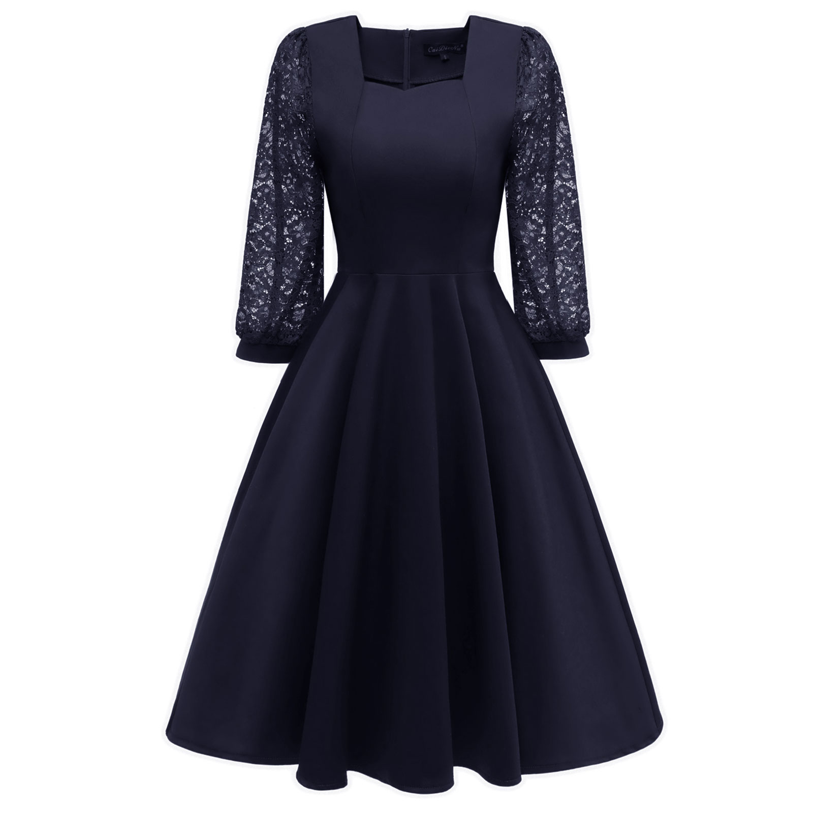 Peasant Long Sleeve Formal Dresses