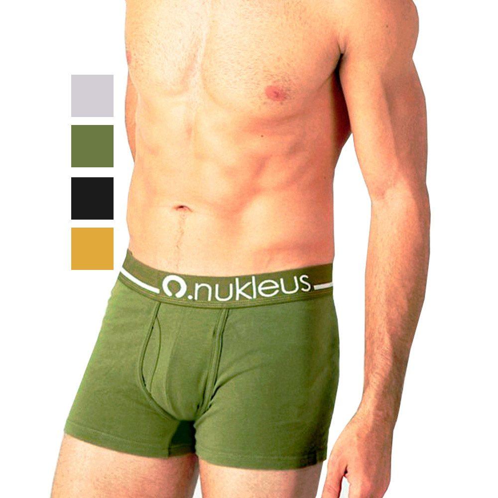 Nukleus Men s Organic Cotton Eco Soft Long Comfort Trunk Briefs Boxers  Underwear 49c931c604