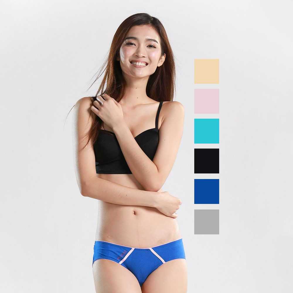 f8f809b43c9a Nukleus Womens 2Pcs Lingerie Extra Comfort Organic Bikini Panties Underwear