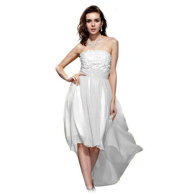 Chiffon Evening Gown Classy Floral Applique Regular/Plus Size ...