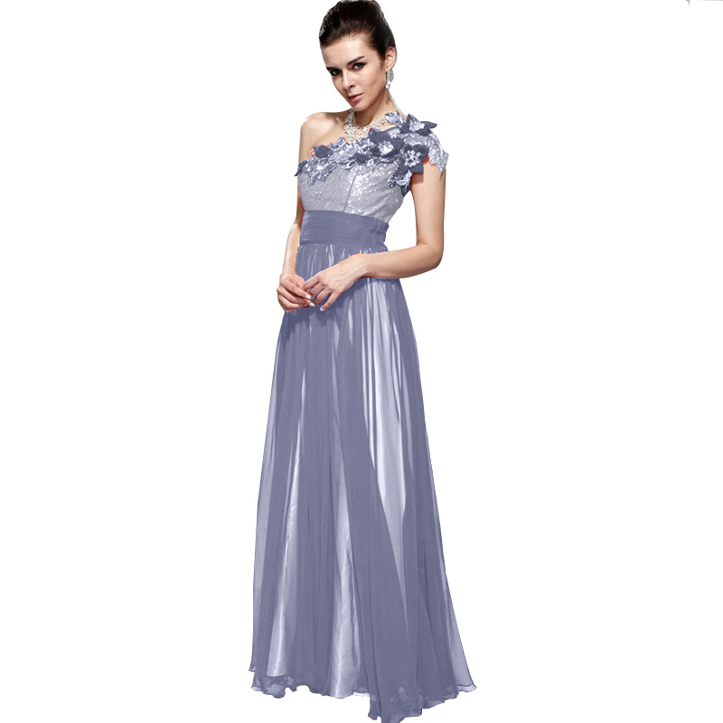 Plus Size Tulle Floral Lace Top Beaded Chiffon Evening Gown A Line