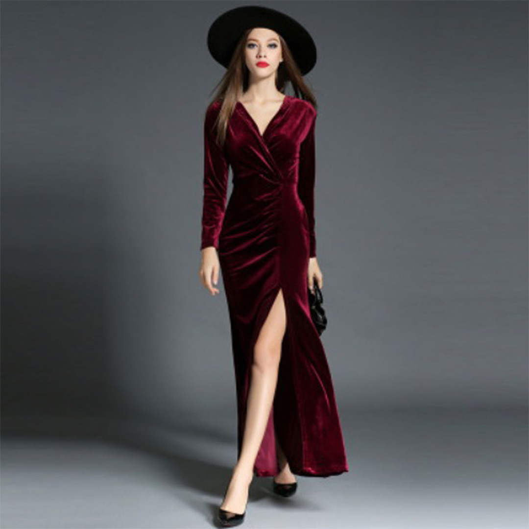 Warm Evening Dress