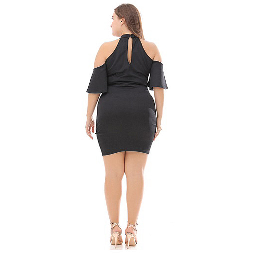 095631e9e1 Plus Size Women Sexy Keyhole Neckline Club Cocktail Bustier Bodycon ...