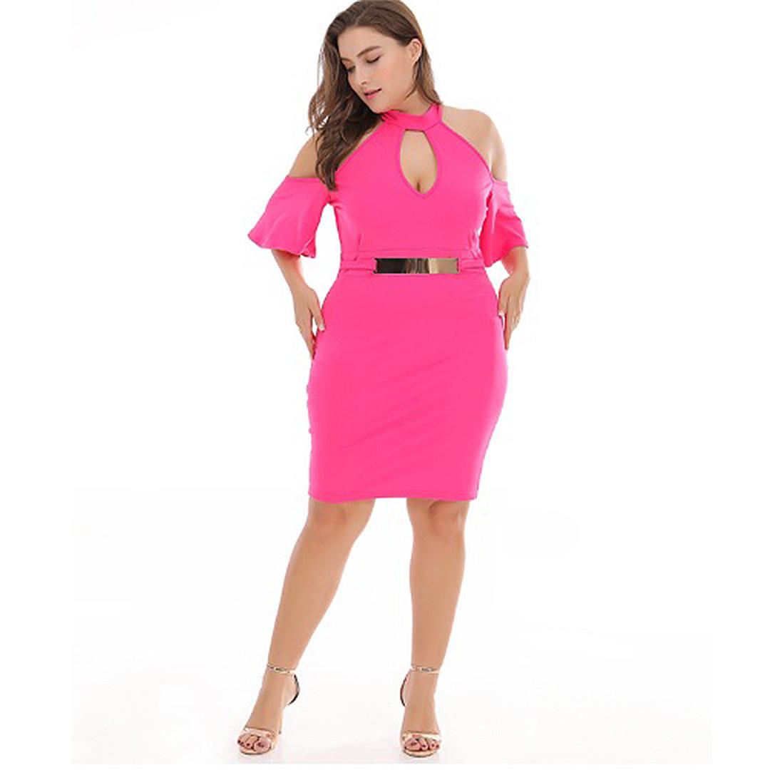 c6eff67cbb Women Party Cocktail Sexy Hot Clubwear Mini Plus Size Bodycon Dress