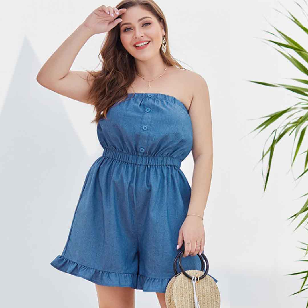 Ideas How to Wear Strapless Tops