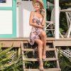 pink-sweetheart-neckline-casual-summer-floral-a-line-ruffle-beach-dresses-3